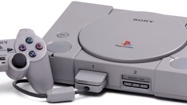 A Playstation console
