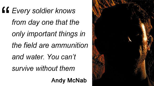 Andy McNab quote