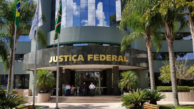 Sede da Justia Federal no Paran