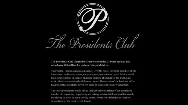 The Presidents Club.