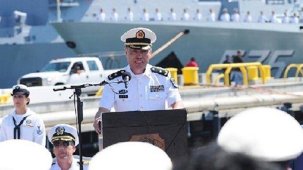 中國海軍司令沈金龍