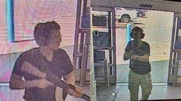 Đã có hình ảnh CCTV của thủ phạm vụ xả súng El Paso