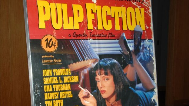 "Afiche de ""Pulp Fiction"""