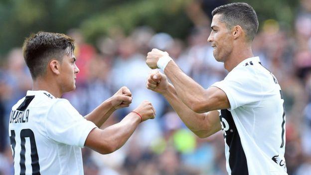 Ronaldo y Dybala