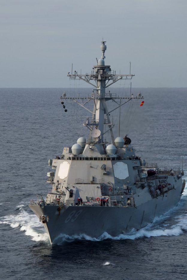 馬斯廷號驅逐艦(USS Mustin )是美國海軍阿利·伯克級驅逐艦。