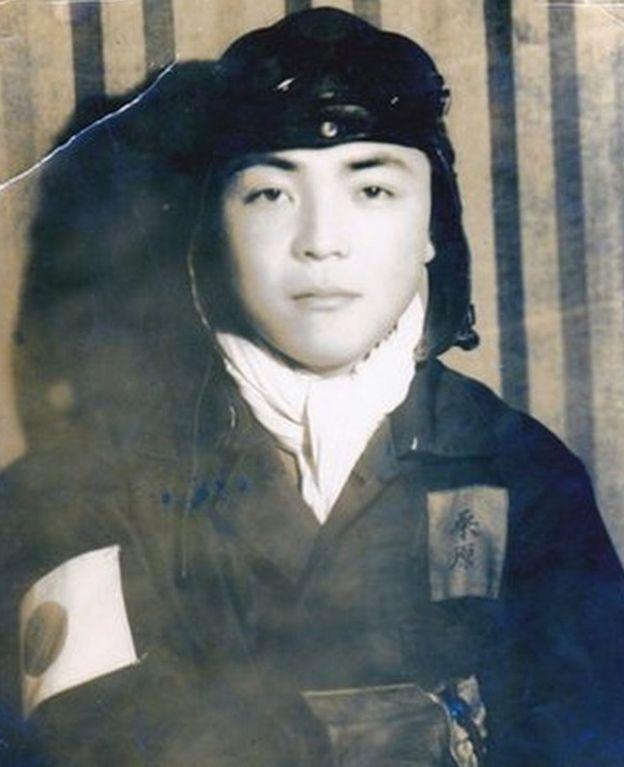 Kuwahara, con 17 años fue convocado para formar parte de la unidad kamikaze. (Foto: Keiichi Kuwahara)