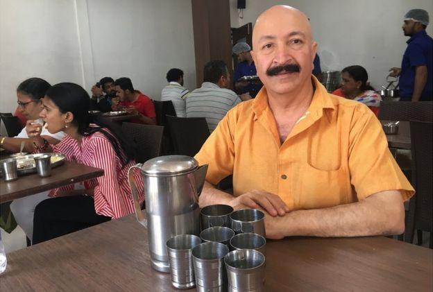 Kishor Sarpotdar at the Poona Guest House