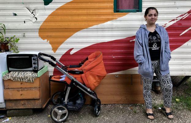 Sibelgiana, 16, belongs to the Roma community