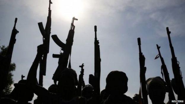 Wapiganaji Sudan Kusini, na silaha hatari