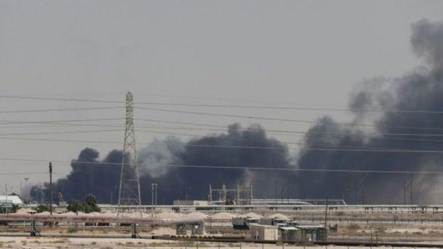 Một cơ sở của Aramco tại thành phố Abqaiq bị tấn công