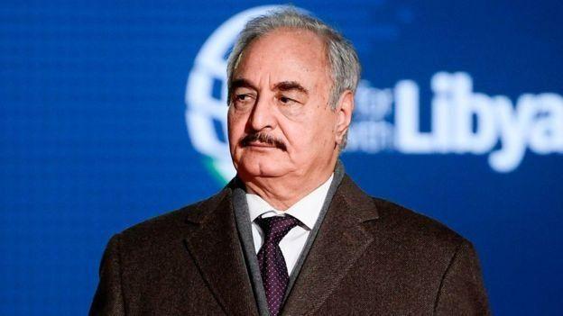 ژنرال حفتر مخالف دولت مرکزی لیبی است