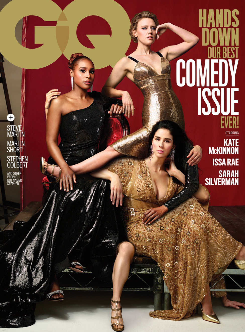 The GQ front cover