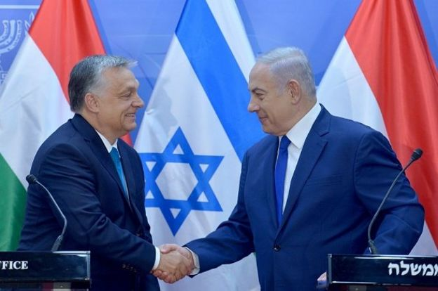 نتانیاهو و ویکتور اوربان