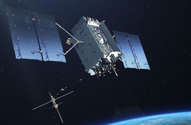 GPS III satellite