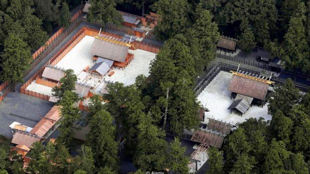 Gran Altar de Ise, en Japón