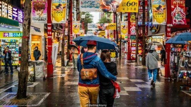 """""""不好意思""""文化揭示了台湾谦虚和害羞的一面"""