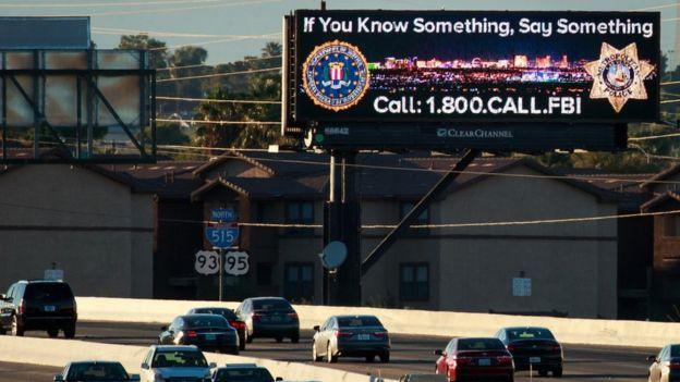 Агитационный постер ФБР