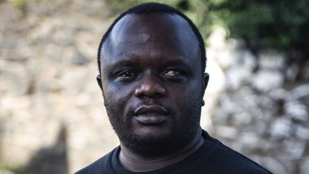 Ilot Alphonse, co-founder of the Congo Men's Network