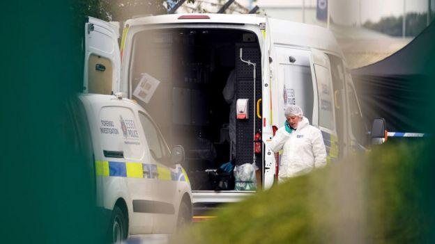 Forensics on scene
