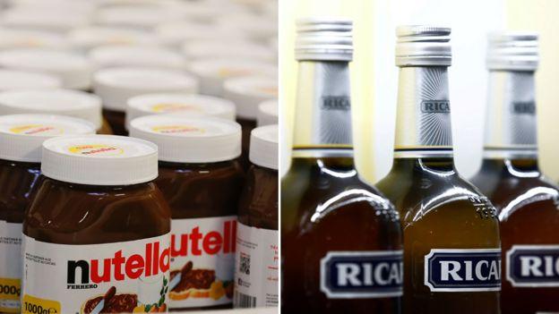 Nutella/Ricard combo - file pic