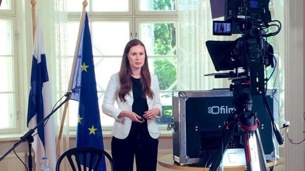 Η πρωθυπουργός της Φινλανδίας Sanna Marin