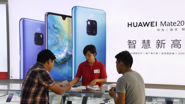 Why Asia isn't hanging up on Huawei - BBC News