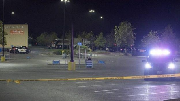 Estacionamiento de Walmart