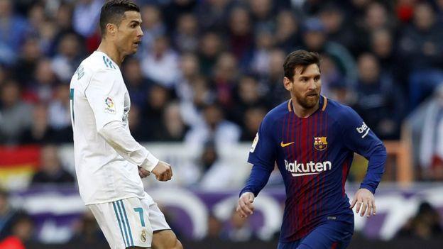 Messi ve Ronaldo
