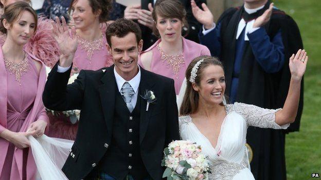 Wedding of Andy Murray and Kim Sears