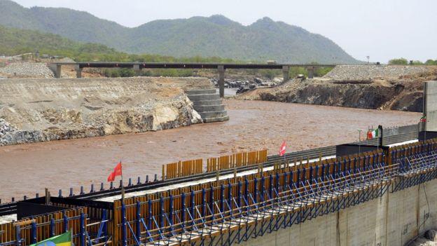 Etiyopya'da inşa edilen Rönenans barajı
