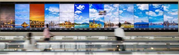 Haneda Airport installation