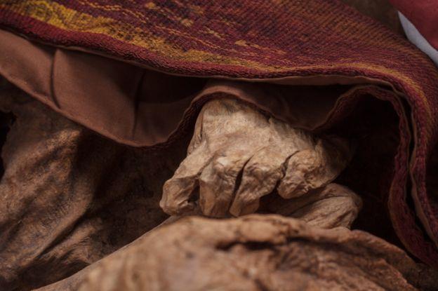 una momia