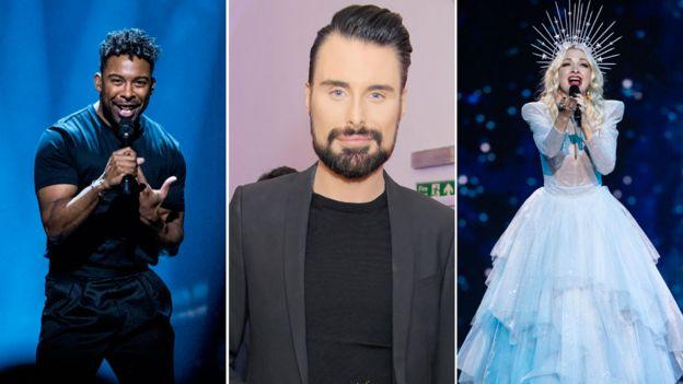 Eurovision 2019: Rylan Clark-Neal picks his top five