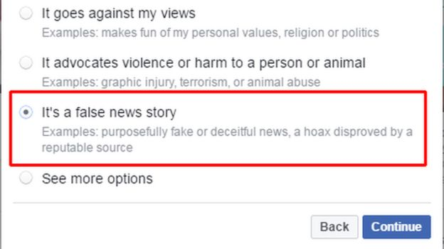How to report fake news to social media - BBC News