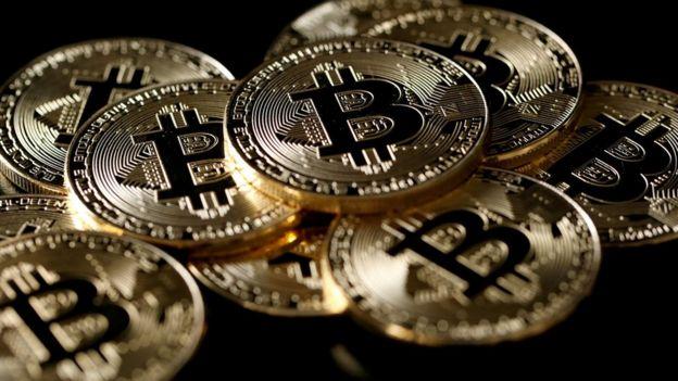 Representaci??n de bitcoins.
