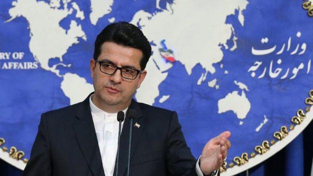 سخنگوی وزارت امور خارجه ایران