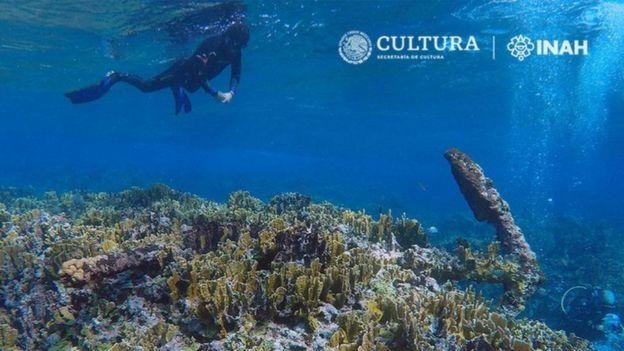 Якір знайшли на мілині атолового рифу Банко Чинчорро