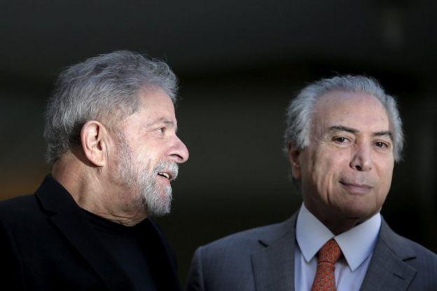 Lula y Temer