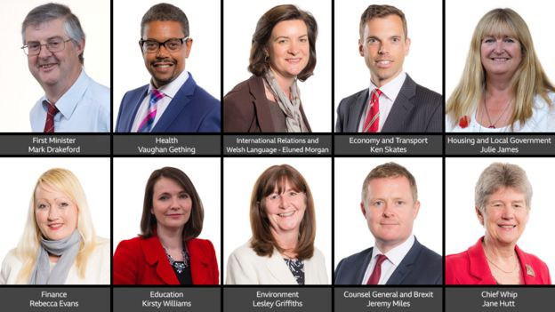 Wales' new first minister Mark Drakeford appoints his team