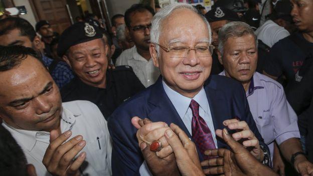 前馬來西亞總理首相納吉布