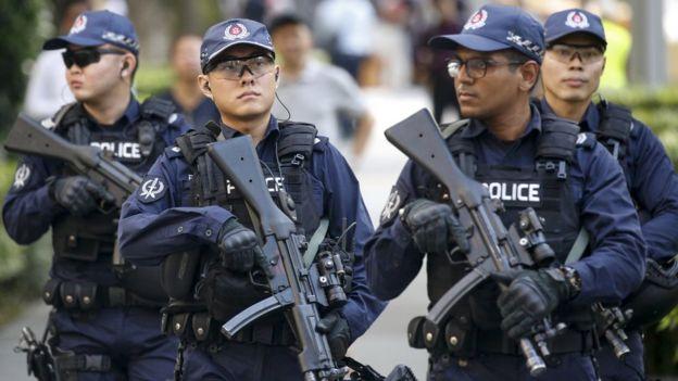 Aparat keamanan Singapura