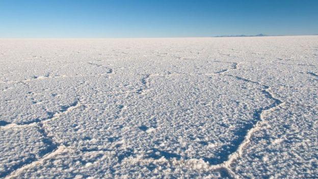 Neve na Antártida