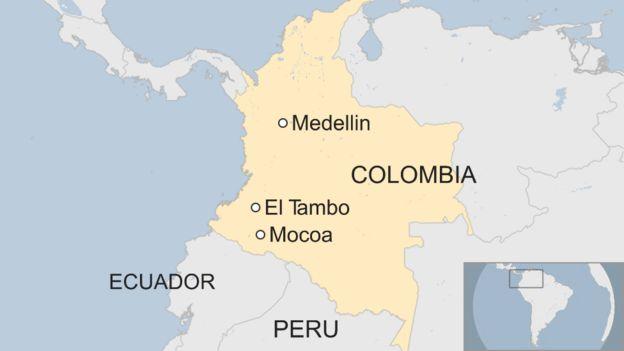 Watu 250 waangamia kwenye maporomoko ya ardhi Colombia