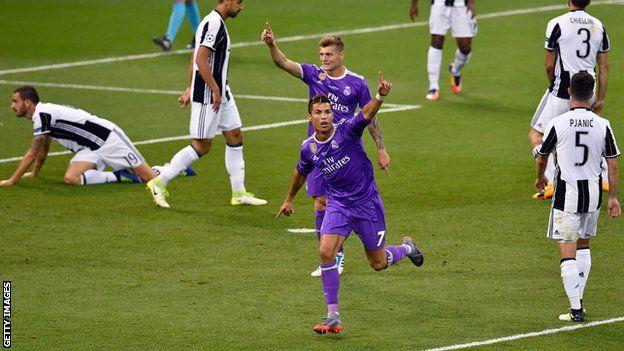 Cristiano Ronaldo ameshinda Kombe la Klabu Bingwa Ulaya mara nne sasa - tatu akiwa na Real Madrid na moja akiwa na Manchester United