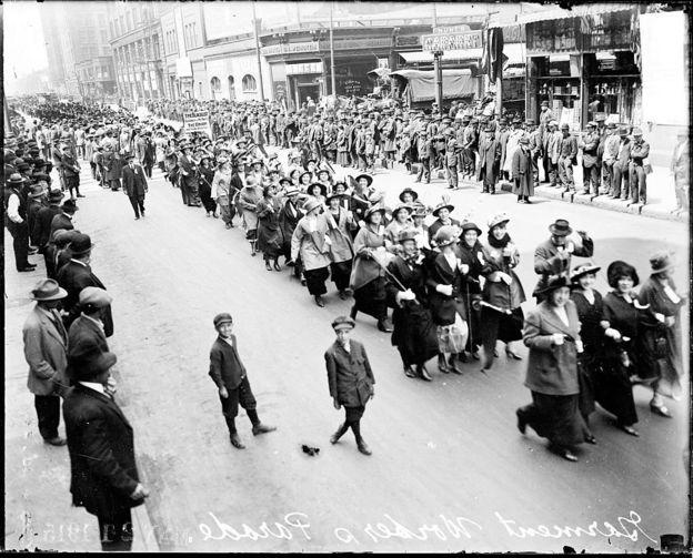 روز جهانی کارگر در شیکاگو،