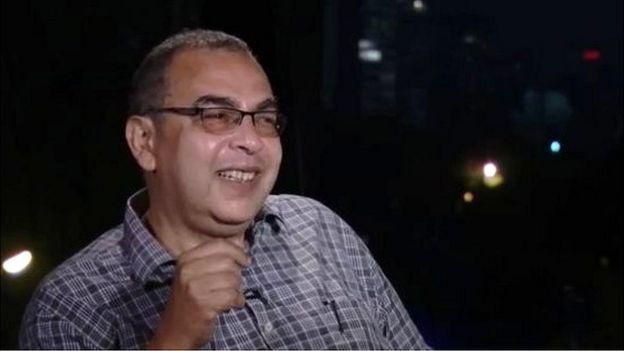 أحمد خالد توفيق في لقاء مع بي بي سي عام 2016