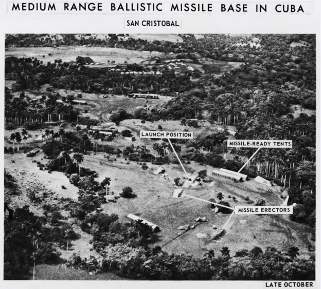 Base de mísseis em Cuba