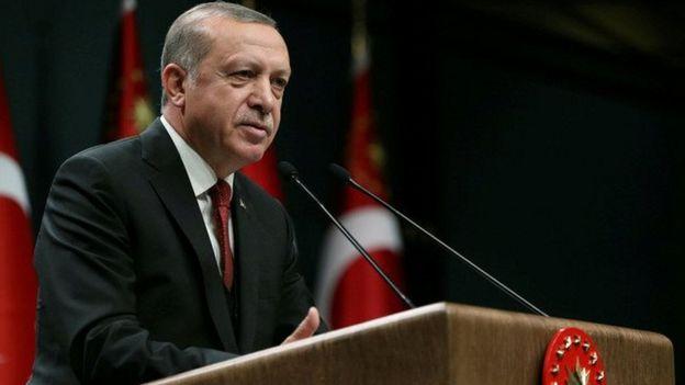 Rais Erdogan amesema walinzi wake walikuwa wakifanya kazi yao