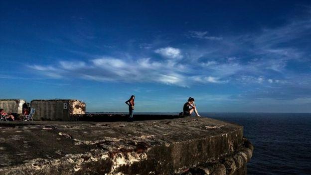 La Rambla, a região costeira de Montevidéu