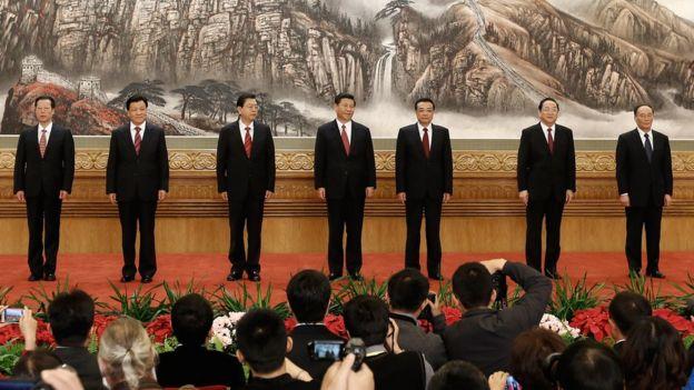 El Comité Permanente de China